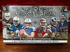 2015 Topps Platinum Football Factory Sealed Hobby Box