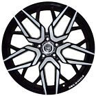 4 GWG NIGMA 20 inch Black Machined Rims fits OLDSMOBILE INTRIGUE 2000 2004