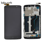 LCD Display Touch Screen Digitizer + Frame For ZTE MAX XL N9560 6.0