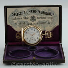 A. Lange & Söhne 14k Gold Hunter Original Box & Papers in Mint Condition 1924