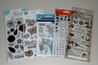 Lot of Clear Stamps Tim Holtz Hampton Art Art Impressions Molly