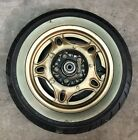 1981 82 Honda CB900 FB F2B OEM Gold Anodized Mag Rear Wheel 16 X 2.50