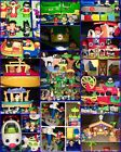 Fisher Price Little People Lot 14 Sets 100+ Pieces Zoo Nativity Airport Farm