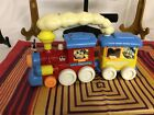 Disney Two Car Toy Steam Train with Goofy, Mickey and Others