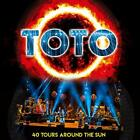 TOTO 40 Tours Around The Sun JAPAN 2CD Steve Lukather Steve Porcaro J. Williams