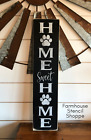 Home Sweet Home Stencil With Paw 5x24 Reusable Stencil NOT A SIGN