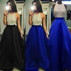 USA Women Formal Wedding Bridesmaid Long Evening Party Ball Prom Cocktail Dress
