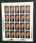 #3897 Ronald Reagan first day of issue full sheet of 20 signed