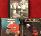 Gravestone- Victim Of Chains, Creating A Monster, Back To Attack (3 CD Lot)