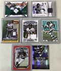 Topps Ravens 7 Card Lot Relics Auto #'d Ray Lewis Ed Reed Terrell Suggs Ray Rice