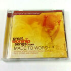 Made to Worship CD Leader Series Great Songs.Com Regi Stone 2007 Tested RARE!!