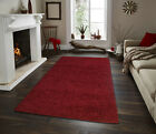 Shaggy Area Rugs Solid Colors Contemporary Living Room Carpet Decor