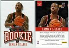 Damian Lillard Rookie Cards Checklist and Guide 45