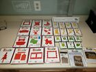 LOT of Sizzix Original Dies Red Yellow Green  more