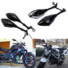 For Kawasaki Z1000/900/750 ER6N LED Turn Signals Side Mirror 8mm 10mm 3 Style MP