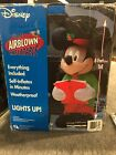New Disney Christmas airblown Inflatable Mickey Mouse And He Lights Up