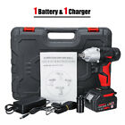 300n.m 10000mah Cordless Electric Wrench Driver Drill Led Light Lithium Power
