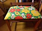 Mid-Century sewing bench stool chair vanity seat