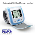 Automatic Wrist Blood Pressure Monitor pulse Rate Tester Meter Machine K0D9