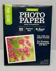 PEN  GEAR Glossy Photo Paper 85 x 11 50 Sheets Instant Dry