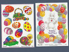 Suzy Zoo Stickers Iridescent Easter Eggs  Colorful Easter Egg Frame w Bunny