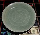Old Chinese Celadon Porcelain Hand Made Large 11