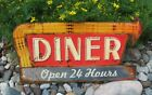 DINER Kitchen Wall SIGN*Primitive/French Country Farmhouse/Restaurant Decor*New!