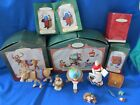 HALLMARK CHRISTMAS LETTERA, GLOBUS, MR'S CLAUS + CURIUS ELF+ TOY BOX + REINDEER