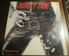Motley Crue Too Fast For Love LP Vinyl Record Nikki Sixx