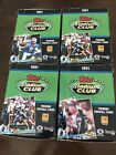 1991 Topps Stadium Club Football FOUR Boxes Brett Favre Rookie Card Possible