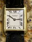 Cartier Tank Watch - Rare Initials Signed On Case