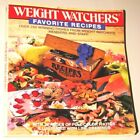 Vintage 1988 Weight Watchers Favorite Recipes Paperback