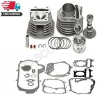Cylinder and Head 61mm Alloy Big Bore Kit GY6 150cc Scooters Mopeds Performance