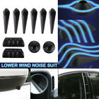 10pcs Universal Car Fairing Body Sticker Auto/Vehicle Lowering Wind Noise Set