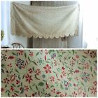 Valance Vintage Small Scale Floral Fabric Cotton Early 1900's yellow ground