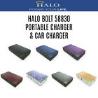Halo Bolt Portable Charger 58830 MWh Car Jump Starter Engine Battery Power Bank