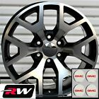 20 x9 inch RW 5656 Wheels for GMC Yukon Machined Black Rims 6x1397 6x550 Set