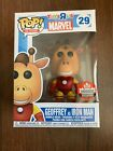 Funko Pop Geoffrey As Iron Man #29 Canadian Convention Exclusive