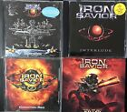 Iron Savior-Condition Red, Interlude, Unification, Kill Or Get Killed (4 CD Lot)