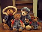 BOYDS BEARS BURRBRUIN FAMILYwith CRACKER BARREL OLD COUNTRY STORE EXCLUSIVE BEAR