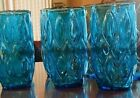 (3) MCM ANCHOR HOCKING MADRID Glasses Tumblers 5