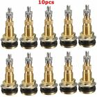 10x Tractor Air Liquid Water Tubeless Tire Valve Stems Wheel Rim TR618A Brass