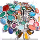 Labradorite  Mixed Gemstone Pendants 925 Sterling Silver Polished Pendant