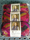 NEW Red Heart Boutique Sashay Ruffle Yarn Mambo Package of 3