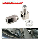 90 Sensor Spacer Engine Light CEL Check Bung Mini Catalytic Converter for O2