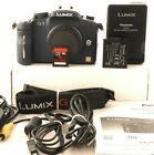 Panasonic LUMIX DMC-G1 Digital Camera (Body Only) BLUE 1837 SHOTS 1111A
