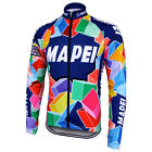 Brand New Team Mapei winter fleece Jersey cycling Jersey Colnago C40 C50 Master