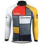 Brand New Team La Vie Claire winter fleece Jersey cycling Jersey Lemond