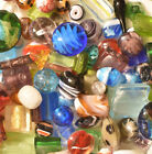 Lampwork Beads 1 LB Bulk Mixed Style  Colors Handmade Glass