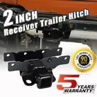 For 2018 19 Jeep JL Wrangler 2 Inch Trailer Receiver Hitch Kit Flat Four Harness